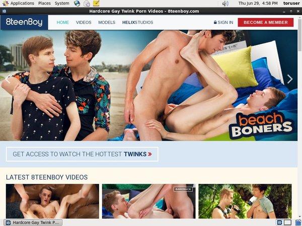 8teenboy.com Log In
