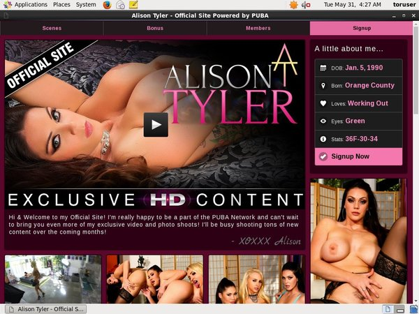Alison Tyler All Videos