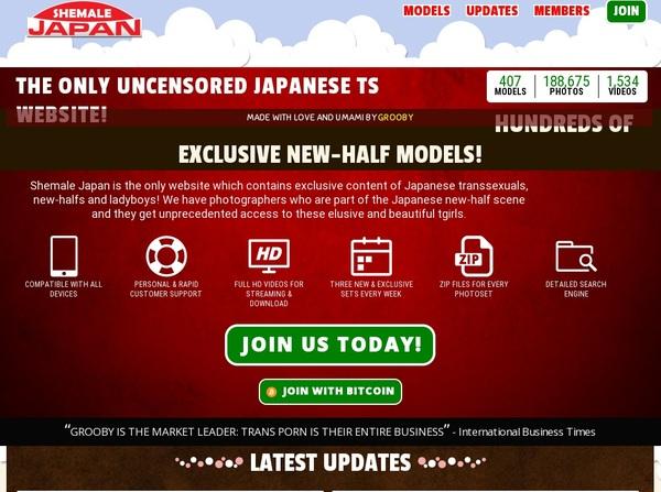 Become Shemale-japan.com Member