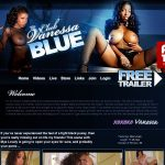 Club Vanessa Blue Black