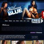 Club Vanessa Blue Glamorous