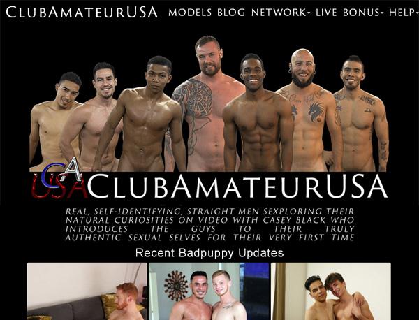 Clubamateurusa Signup Page