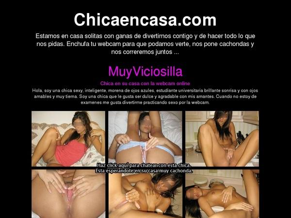 Create Chicaencasa.com Account