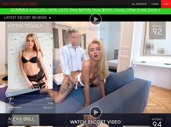 Escortcasting.com Get An Account