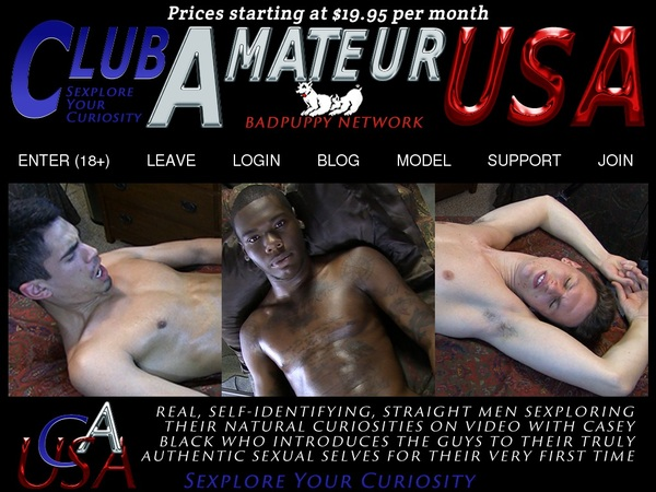 Free Club Amateur USA Account Logins
