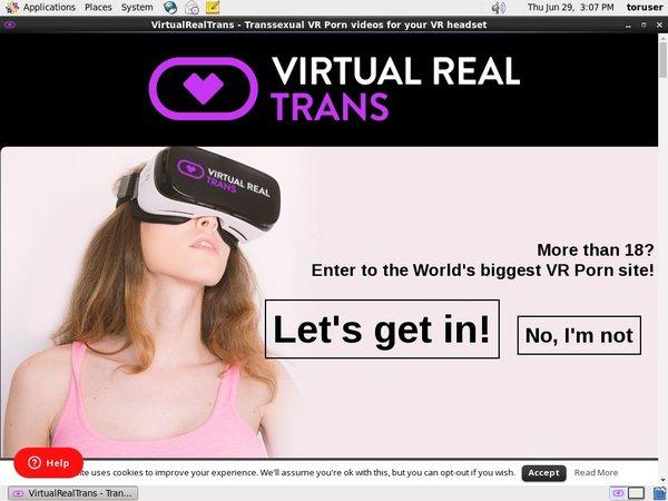 Get Virtual Real Trans Account