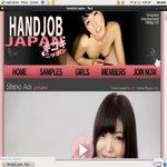 Handjob Japan With Westbill