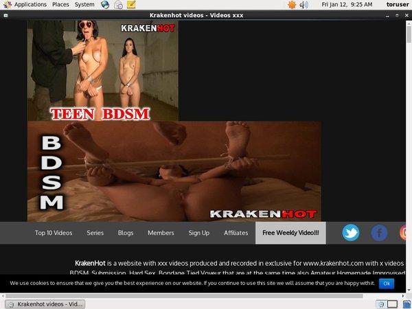 Kraken Hot Free Acc