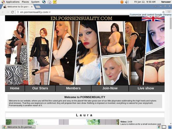 Pornsensuality.com Premium Account Free