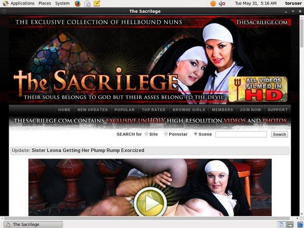 Thesacrilege.com Usernames