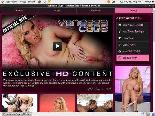 Vanessa Cage Account Premium