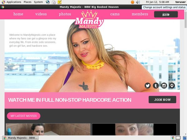 Video Mandy Majestic Free