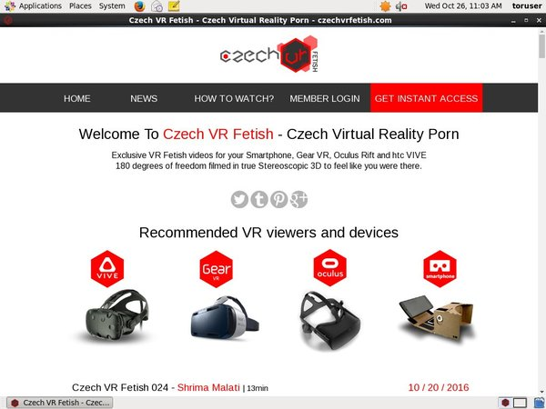 Czech VR Fetish Porn Password