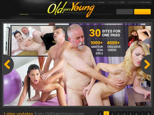 Free Oldgoesyoung Account Passwords