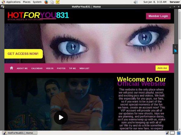 Hotforyou831.modelcentro.com 注册帐号