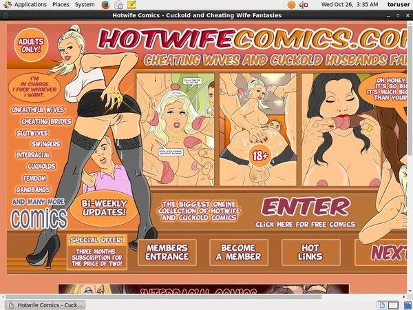 New Hotwife Comics Discount