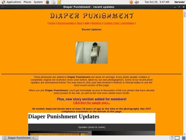 Diaperpunishment.com Account Blog