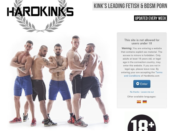 Account Hardkinks.com Free