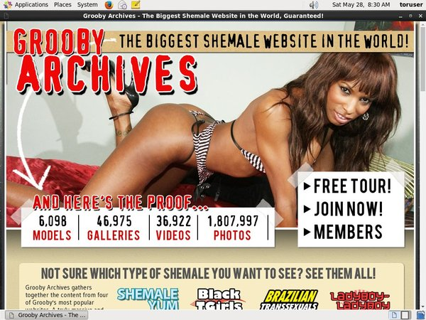 Grooby-archives.com Lifetime Membership