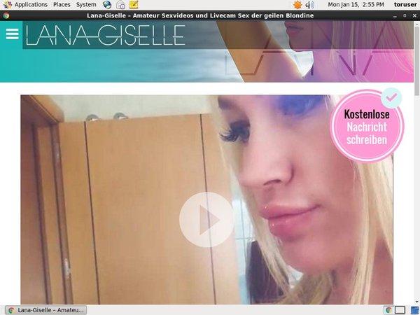 Lana Giselle Login Account