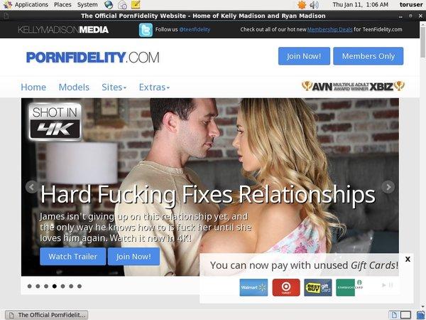 Discount For Pornfidelity