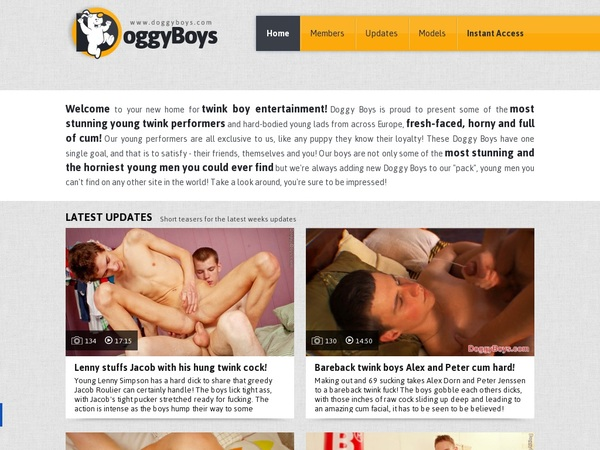 Doggy Boys Account For Free